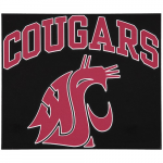 "Fanatics Washington State Cougars 12"" x 12"" Arched Logo Decal"
