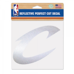 "Fanatics Cleveland Cavaliers WinCraft 6"" x 6"" Reflective Perfect Cut Decal"