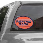 Fanatics Illinois Fighting Illini 12'' x 12'' Mega Decal
