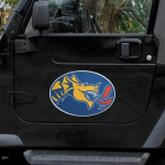 "Fanatics Drexel Dragons Mega 12"" x 12"" Car Magnet"