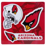 "Fanatics Arizona Cardinals 12"" Car Magnet Sheet"