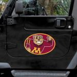 "Fanatics Minnesota Golden Gophers Mega 12"" x 12"" Car Magnet"