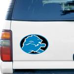 """Fanatics Detroit Lions Mega 12"""" x 12"""" Car Magnet"""