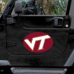 """Fanatics Virginia Tech Hokies Mega 12"""" x 12"""" Car Magnet"""