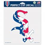 "Fanatics Chicago White Sox WinCraft Patriotic 8"" x 8"" Color Decal"