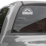 Fanatics WinCraft Colorado Rockies 8'' x 8'' Logo Decal - White