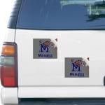 "Fanatics Memphis Tigers 5"" x 6"" Rectangular 2-pack Car Magnet Set"
