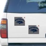"""Fanatics Nevada Wolf Pack 5"""" x 6"""" Rectangular 2-pack Car Magnet Set"""