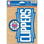 """Fanatics LA Clippers WinCraft 6"""" x 9"""" Logo Car Magnet"""