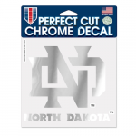 "Fanatics North Dakota WinCraft 6"" x 6"" Chrome Decal"