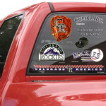 "Fanatics Colorado Rockies WinCraft 11"" x 17"" Ultra Decal Sheet"