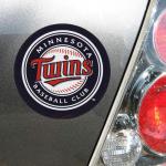 "Fanatics Minnesota Twins WinCraft 4"" Die Cut Car Magnet"