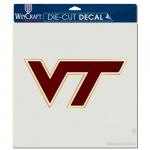 Fanatics Virginia Tech Hokies WinCraft 8'' x 8'' Color Car Decal