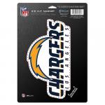 "Fanatics San Diego Chargers WinCraft 6"" x 9"" Car Magnet"