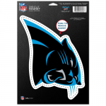 "Fanatics Carolina Panthers WinCraft 6"" x 9"" Car Magnet"