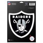 "Fanatics Oakland Raiders WinCraft 6"" x 9"" Car Magnet"
