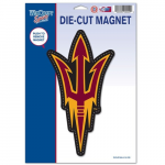 "Fanatics Arizona State Sun Devils WinCraft 6"" x 9"" Car Magnet"