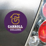 Fanatics Carroll College Fighting Saints 4'' Tier Circle Car Magnet