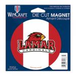 Fanatics Lamar Cardinals 4'' Tier Circle Car Magnet