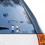 Fanatics Penn State Nittany Lions WinCraft Family Decal Sheet