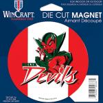 Fanatics Mississippi Valley State Delta Devils 4'' Tier Circle Car Magnet
