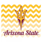 Fanatics Arizona State Sun Devils 2-Pack Chevron Car Magnets