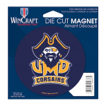 Fanatics UMass Dartmouth Corsairs 4'' Tier Circle Car Magnet