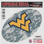"Fanatics West Virginia Mountaineers 8"" x 8"" Camo Oval Repositionable Decal"