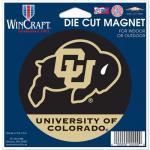 "Fanatics Colorado Buffaloes WinCraft 4"" Die Cut Car Magnet"