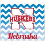 Fanatics Nebraska Cornhuskers 2-Pack Chevron Car Magnets