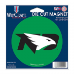 "Fanatics North Dakota WinCraft 4"" Die Cut Car Magnet"
