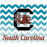 Fanatics South Carolina Gamecocks 2-Pack Chevron Car Magnets