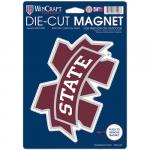 "Fanatics Mississippi State Bulldogs WinCraft 6"" x 9"" Logo Car Magnet"