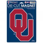 "Fanatics Oklahoma Sooners WinCraft 6"" x 9"" Logo Car Magnet"
