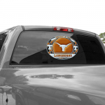 Fanatics Texas Longhorns WinCraft 11'' x 17'' Stained Glass Decal Sheet