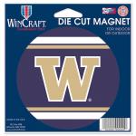 "Fanatics Washington Huskies WinCraft 4"" Die Cut Car Magnet"