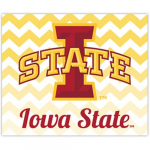 Fanatics Iowa State Cyclones 2-Pack Chevron Car Magnets