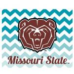 Fanatics Missouri State University Bears 2-Pack Chevron Car Magnets