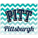 Fanatics Pitt Panthers 2-Pack Chevron Car Magnets