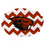 Fanatics Oregon State Beavers 2-Pack Chevron Swirl Car Magnets