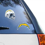 Fanatics Los Angeles Chargers 2-Pack 4'' x 4'' Die-Cut Decals