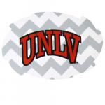 Fanatics UNLV Rebels 2-Pack Chevron Swirl Car Magnets