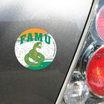 Fanatics Florida A&M Rattlers 4'' Tier Circle Car Magnet