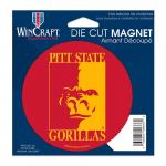 Fanatics Pittsburg State Gorillas 4'' Tier Circle Car Magnet