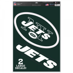 "Fanatics New York Jets WinCraft 11"" x 17"" Multi-Use Decal Sheet"
