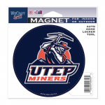 Fanatics UTEP Miners 4'' Tier Circle Car Magnet