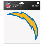 Fanatics Los Angeles Chargers WinCraft 8'' x 8'' Color Car Decal