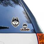 Fanatics UConn Huskies 2-Pack Die-Cut 4'' x 8'' Decals