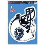 "Fanatics Tennessee Titans WinCraft Helmet 11"" x 17"" Multi-Use Decal Sheet"