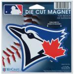 "Fanatics Toronto Blue Jays WinCraft 4"" Die Cut Car Magnet"